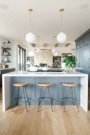 Inspiring Blue And White Kitchen Color Ideas 36