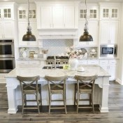 Stunning White Kitchen Design Ideas 36