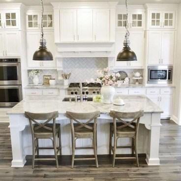 Stunning White Kitchen Design Ideas 36