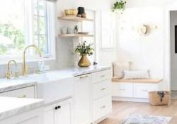 Stunning White Kitchen Design Ideas 50