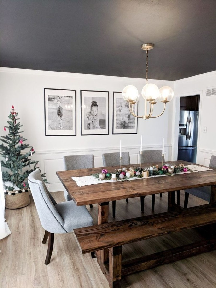 Winter Dining Room Decoration Ideas On Your Table 10