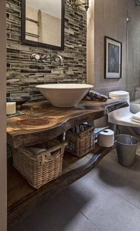 Affordable Farmhouse Bathroom Design Ideas 27