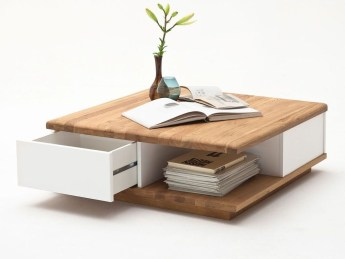 Awesome Wooden Coffee Table Design Ideas 17