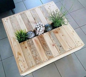 Awesome Wooden Coffee Table Design Ideas 20