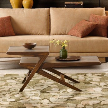Awesome Wooden Coffee Table Design Ideas 24
