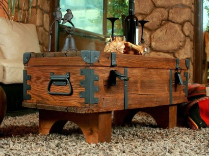 Awesome Wooden Coffee Table Design Ideas 31