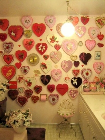 Cute Bathroom Decoration Ideas With Valentine Theme 16