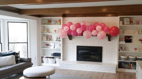 Cute Valentine Decoration For Your Living Room 15