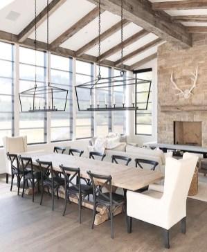 Elegant Modern Dining Room Design Ideas 25