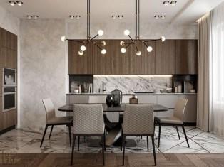 Elegant Modern Dining Room Design Ideas 28