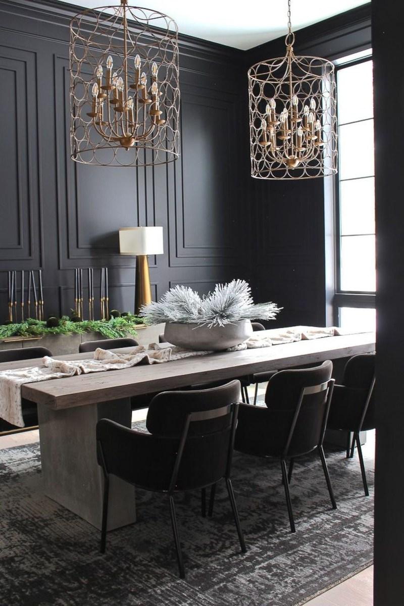 Elegant Modern Dining Room Design Ideas 30