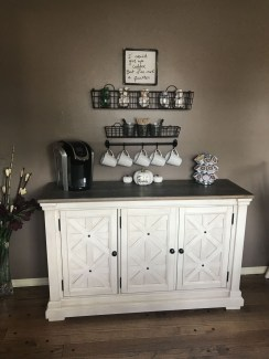 Great Coffee Cabinet Organization Ideas 03