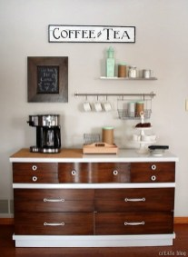 Great Coffee Cabinet Organization Ideas 10