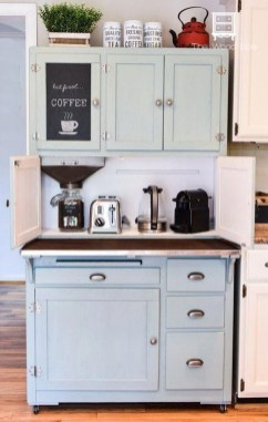 Great Coffee Cabinet Organization Ideas 17
