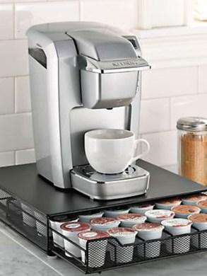 Great Coffee Cabinet Organization Ideas 24