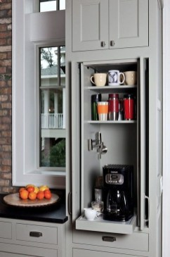 Great Coffee Cabinet Organization Ideas 44
