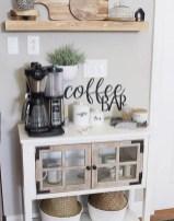 Great Coffee Cabinet Organization Ideas 48