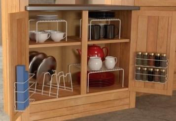 Great Coffee Cabinet Organization Ideas 49