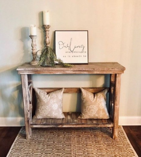 Inspiring Console Table Ideas 25