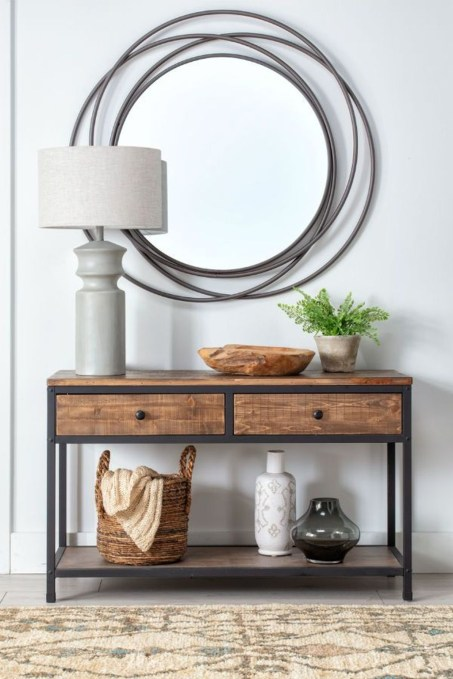 Inspiring Console Table Ideas 46