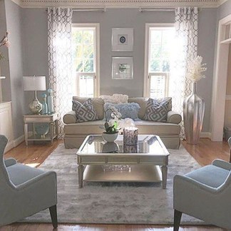Inspiring Furniture Color Ideas For Your Living Room 11