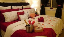Lovely Valentine Master Bedroom Decor Ideas 18