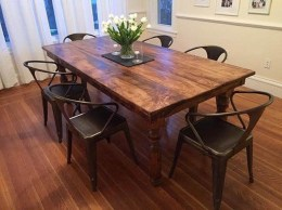 Perfect Farmhouse Dining Table Design Ideas 01