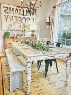 Perfect Farmhouse Dining Table Design Ideas 16