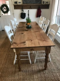 Perfect Farmhouse Dining Table Design Ideas 29