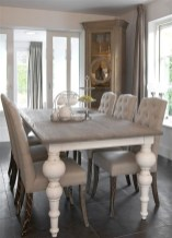 Perfect Farmhouse Dining Table Design Ideas 35