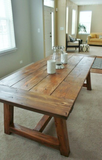 Perfect Farmhouse Dining Table Design Ideas 39