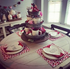 Romantic Valentine Home Decoration Ideas To Warm Your Relationship 12