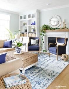 Stunning Coastal Living Room Decoration Ideas 02
