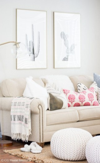 Stunning Spring Living Room Decor Ideas To Refresh Your Mind 24