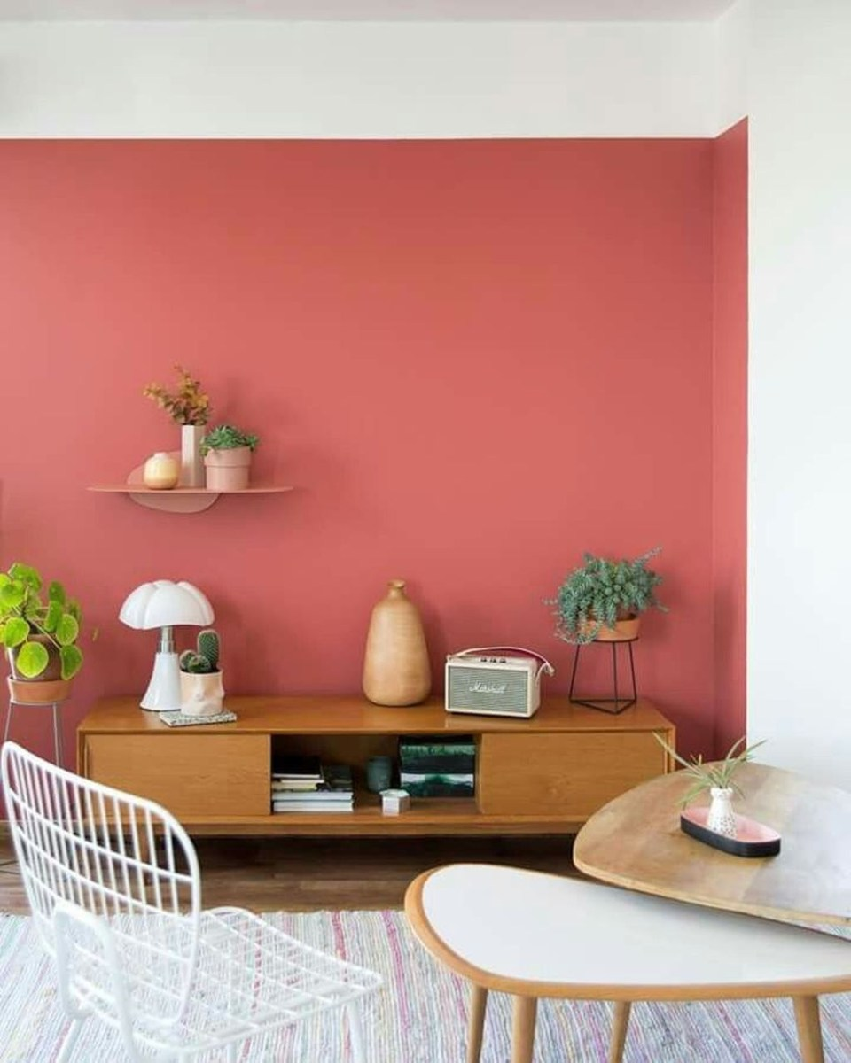 Sweet Living Room Decor Ideas With Red Color For Valentines Day 38