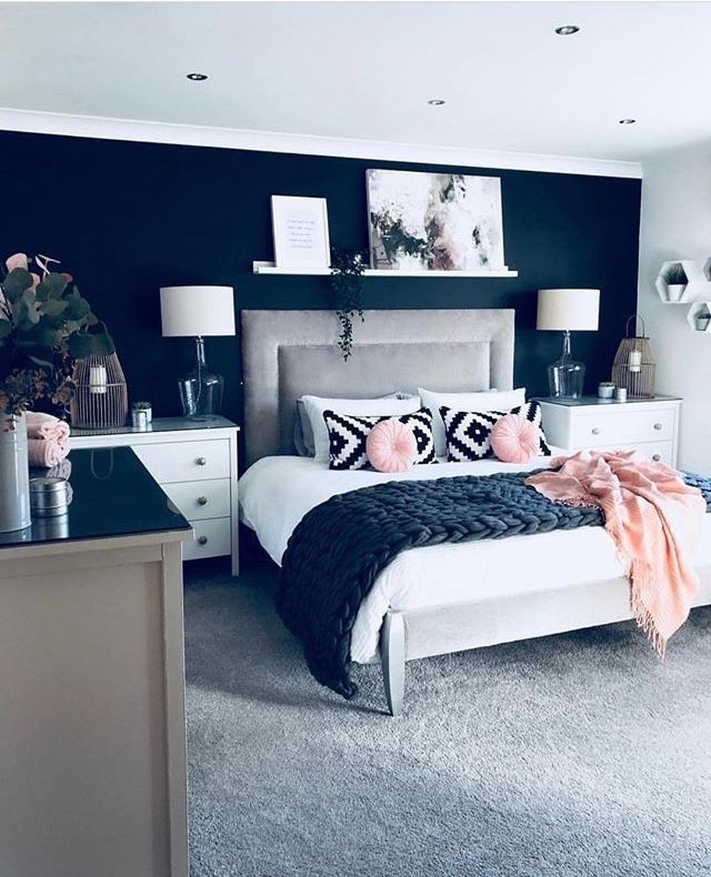 The Best Master Bedroom Design Ideas To Refresh 01 - HOMYHOMEE on Best Master Bedroom Designs  id=68833