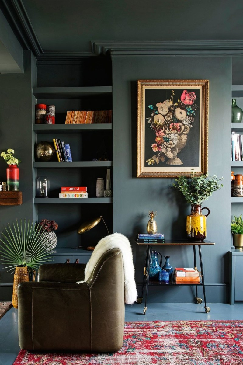 The Best Paint Color Ideas For Your Living Room 40