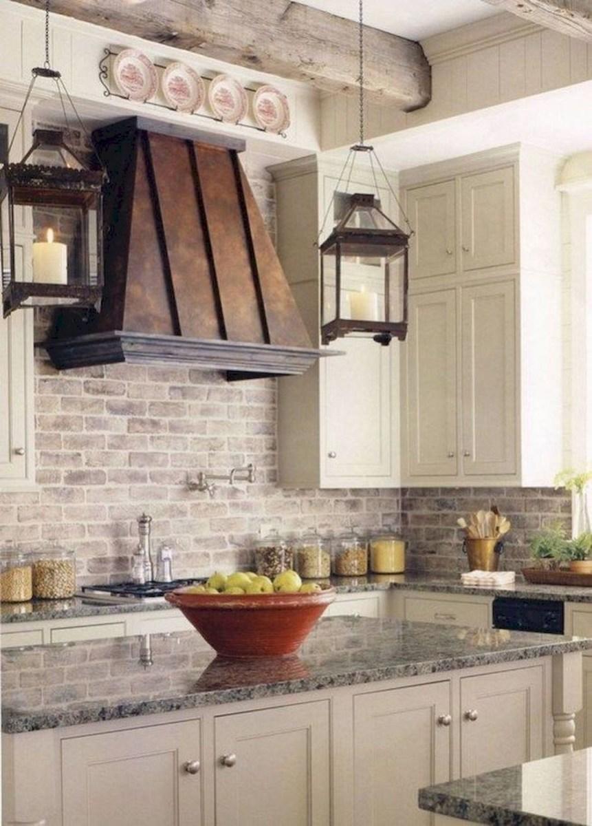 Totally Inspiring Farmhouse Kitchen Design Ideas 21