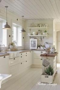 Totally Inspiring Farmhouse Kitchen Design Ideas 26