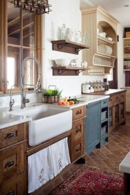 Totally Inspiring Farmhouse Kitchen Design Ideas 32