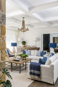 Affordable Blue And White Home Decor Ideas Best For Spring Time 01