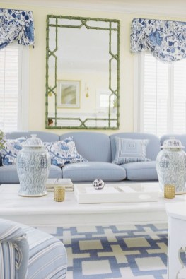 Affordable Blue And White Home Decor Ideas Best For Spring Time 07