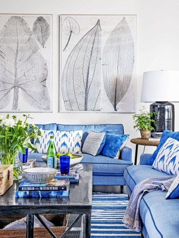 Affordable Blue And White Home Decor Ideas Best For Spring Time 15