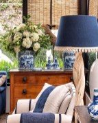 Affordable Blue And White Home Decor Ideas Best For Spring Time 24
