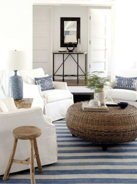 Affordable Blue And White Home Decor Ideas Best For Spring Time 34