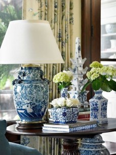 Affordable Blue And White Home Decor Ideas Best For Spring Time 38