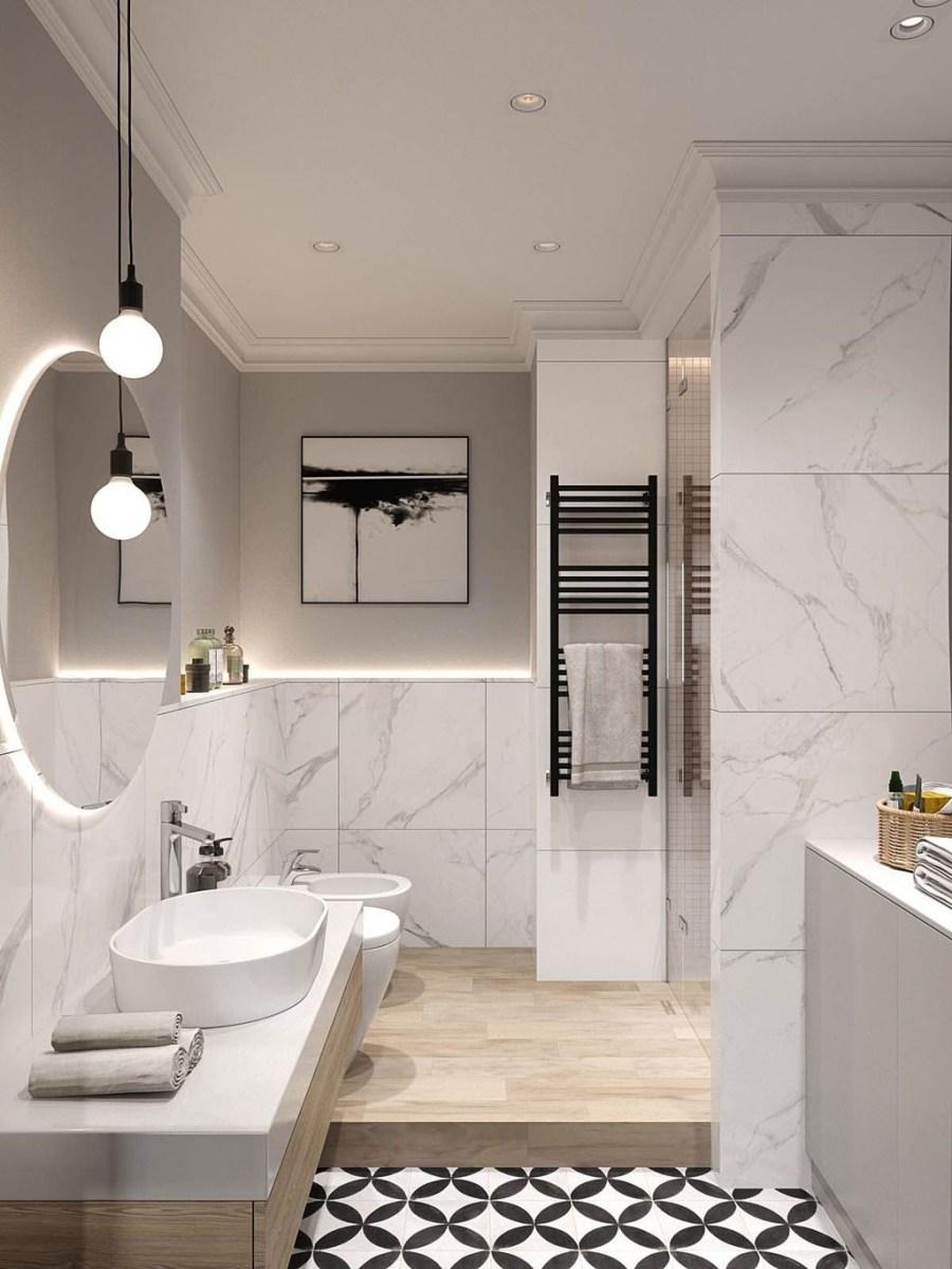 Beautiful Bathroom Mirror Design Ideas 14