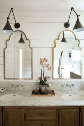 Beautiful Bathroom Mirror Design Ideas 15
