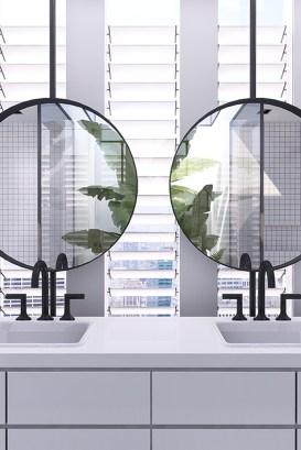 Beautiful Bathroom Mirror Design Ideas 16