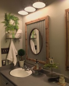 Beautiful Bathroom Mirror Design Ideas 20